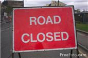 Road Closure: Cheap Street, Compton 2-6 November